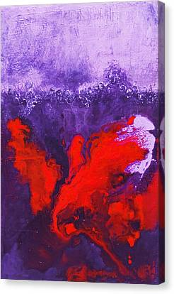 It's All About The Wine Canvas Print by Kay Reinke