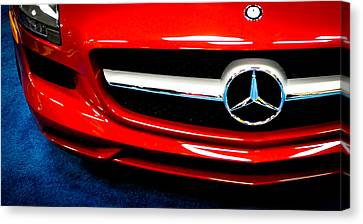 It's All Red Canvas Print by Ronda Broatch