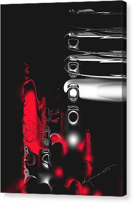 It's Complicated Canvas Print by Kume Bryant