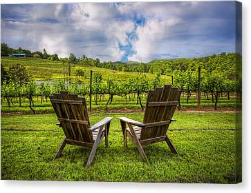 It's Happy Hour Canvas Print by Debra and Dave Vanderlaan