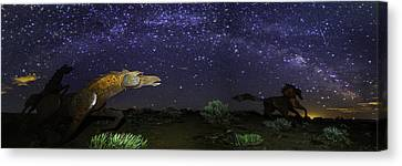 Its Made Of Stars Canvas Print by James Heckt