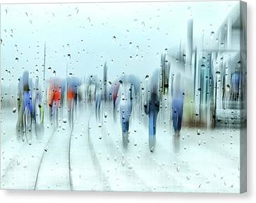 It`s Raining Canvas Print