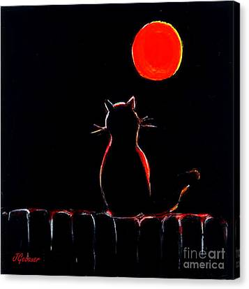 It's Safe Up Here. Canvas Print by Joyce Gebauer