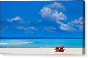 Its That Simple Canvas Print by Jenny Rainbow