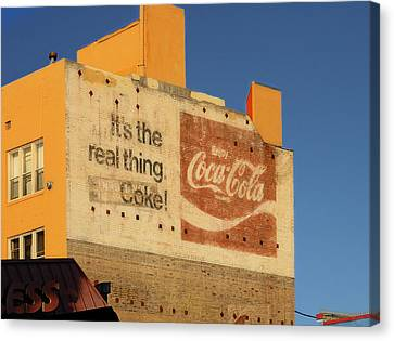 Its The Real Thing Canvas Print