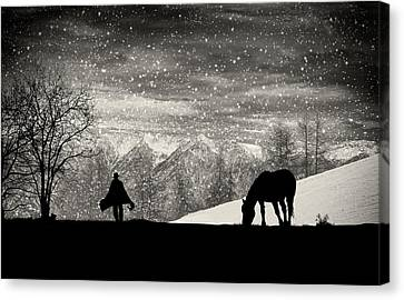It's Time To Go Canvas Print by Vito Guarino