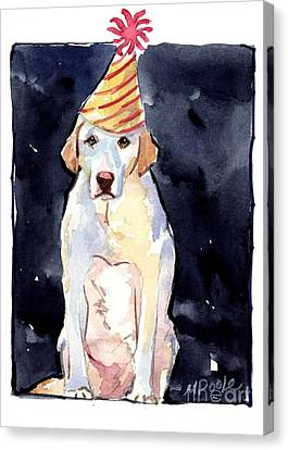 It's Your Birthday Canvas Print by Molly Poole