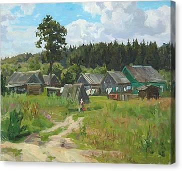 Ivankovo Village Canvas Print