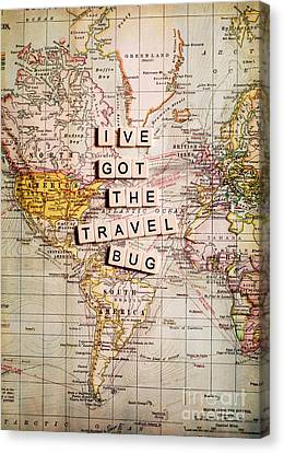 I've Got The Travel Bug Canvas Print