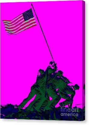 Iwo Jima 20130210 Canvas Print by Wingsdomain Art and Photography