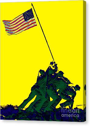 Iwo Jima 20130210p118 Canvas Print by Wingsdomain Art and Photography
