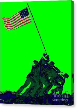 Iwo Jima 20130210p180 Canvas Print by Wingsdomain Art and Photography