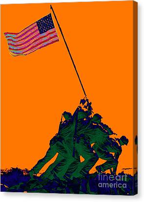 Iwo Jima 20130210p88 Canvas Print by Wingsdomain Art and Photography