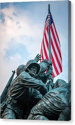 Iwo Jima Forward Canvas Print