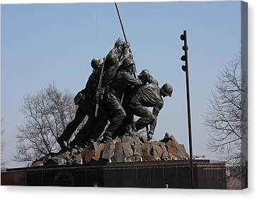 Iwo Jima Memorial - 12122 Canvas Print