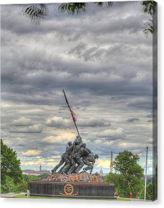 Iwo Jima Memorial - Washington Dc - 01131 Canvas Print