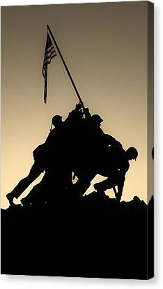 Iwo Canvas Print by Robert Geary