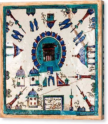 Iznik Kaaba Canvas Print by Rick Piper Photography