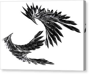 J Big   Crows Canvas Print