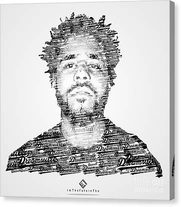 J. Cole X Dreamville X Imthefuturetho Canvas Print by Joel Escamilla