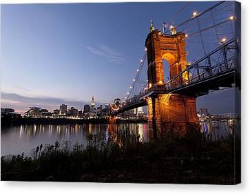 Ja Roebling Bridge Canvas Print