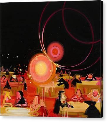 Black Tie Canvas Print - Jabberwocky 2 by Susie Hamilton