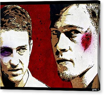 Jack And Tyler Canvas Print by Bobby Zeik