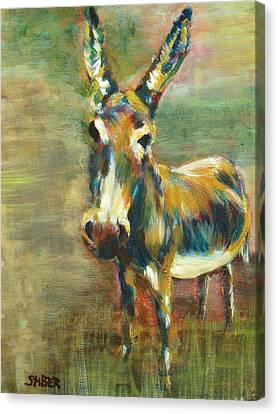 Jack Asked Canvas Print
