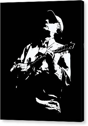 Canvas Print featuring the photograph Jack Farkas by David Stine