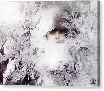 Jack Frost Nipples Your Nose Canvas Print by Gun Legler