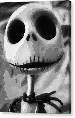 Jack Canvas Print by Joe Misrasi