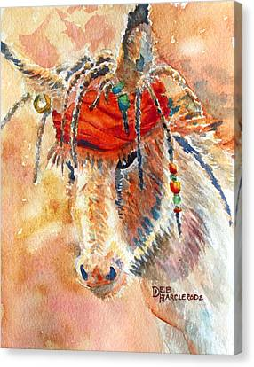 Jack Jr. Burro - Donkey Canvas Print