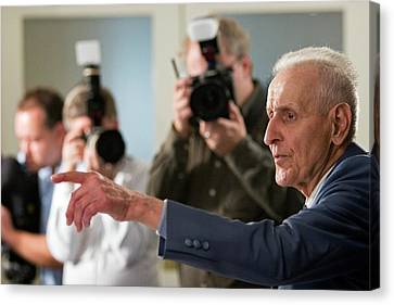 Jack Kevorkian Canvas Print by Jim West