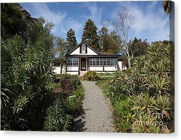 Jack London Cottage 5d22120 Canvas Print by Wingsdomain Art and Photography