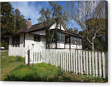 Jack London Cottage 5d22122 Canvas Print by Wingsdomain Art and Photography