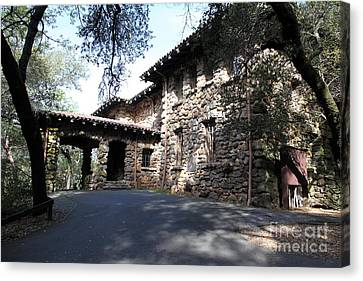 Jack London House Of Happy Walls 5d21966 Canvas Print by Wingsdomain Art and Photography
