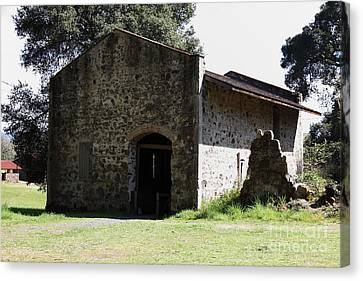 Jack London Ranch Distillery 5d22173 Canvas Print by Wingsdomain Art and Photography