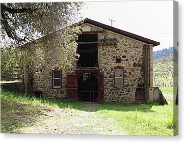 Jack London Sherry Barn 5d22070 Canvas Print by Wingsdomain Art and Photography