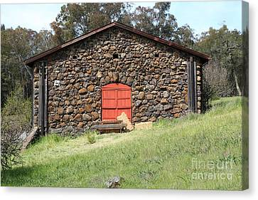 Jack London Stallion Barn 5d22101 Canvas Print by Wingsdomain Art and Photography