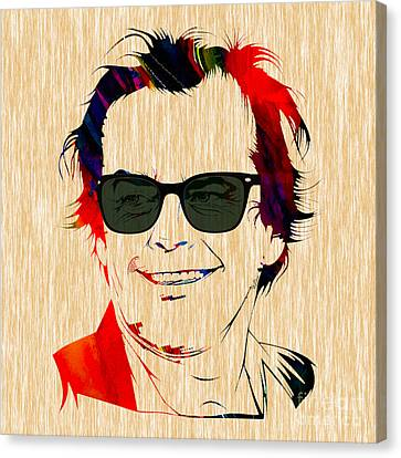 Jack Nicholson Collection Canvas Print