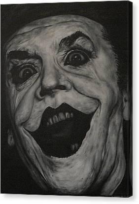Jack Nicholson Canvas Print by David Dunne
