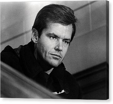 Jack Nicholson In Five Easy Pieces  Canvas Print by Silver Screen