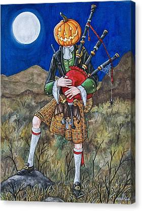 Jack O Piper Canvas Print by Beth Clark-McDonal
