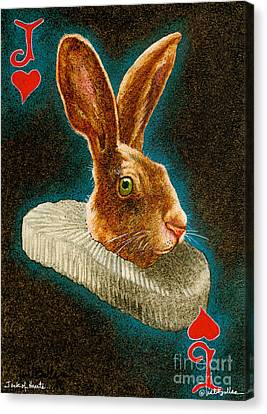 Jack Of Hearts... Canvas Print by Will Bullas
