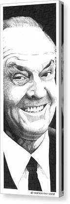Jack Canvas Print by Paul Shafranski