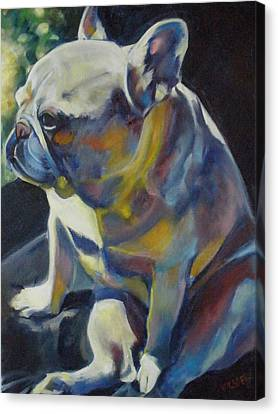 Jack The French Bulldog Canvas Print by Kaytee Esser