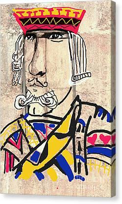Jack The King Canvas Print by Joe Jake Pratt