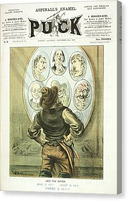 Jack The Ripper Suspects Canvas Print by British Library