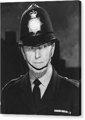 Jack Warner In Dixon Of Dock Green  Canvas Print