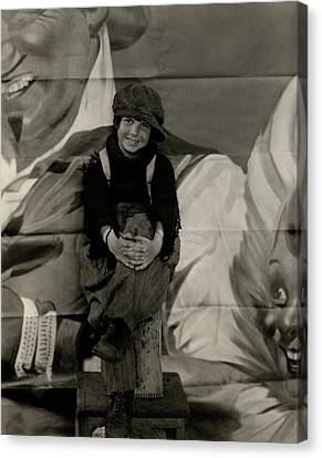 Jackie Coogan Dressed As His Character Tim Kelly Canvas Print by Edward Steichen
